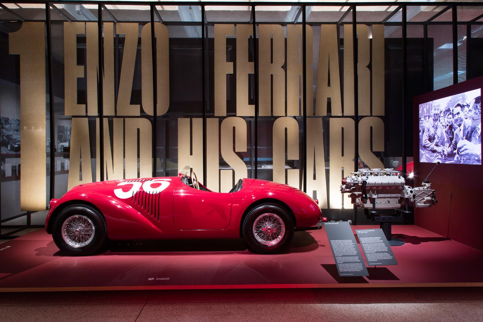 """Under the Skin"""" Exhibition of Ferrari cars Design Museum London"""