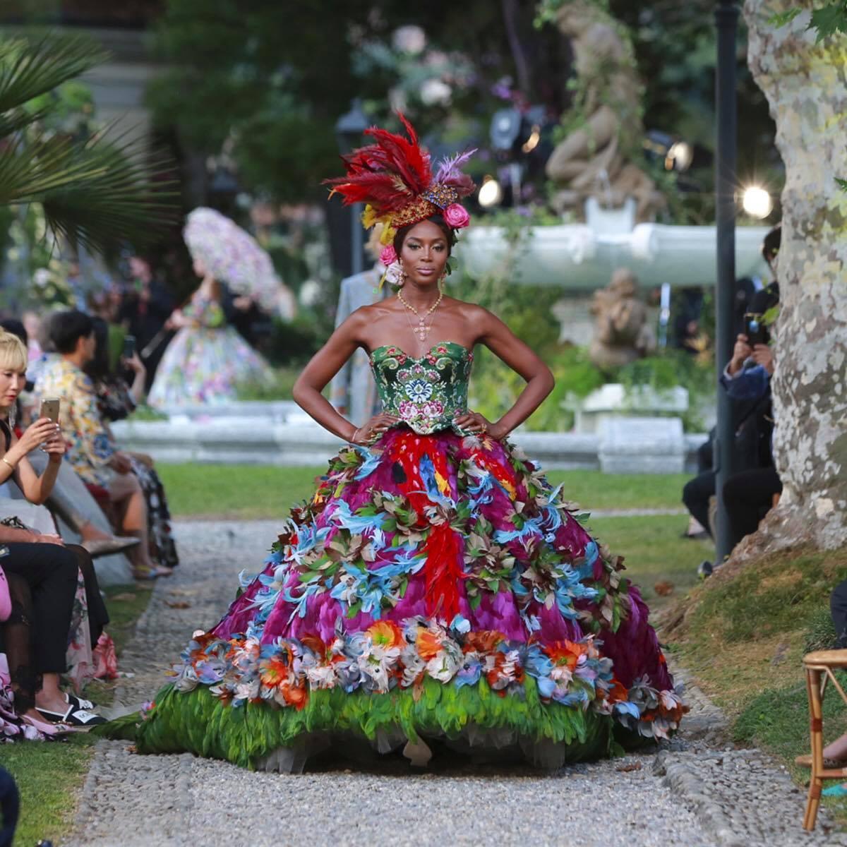Extravagant Alta Moda Show By Dolce & Gabbana Near Lake O