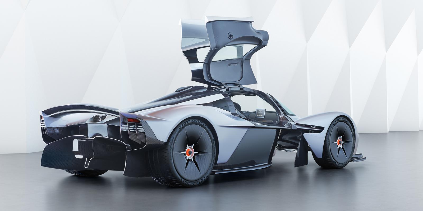Aston Martin Luxury Car Spectre of Valkyrie