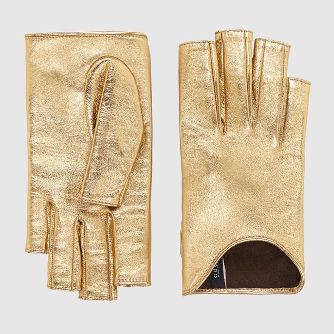 Luxusní dárek pro ženu  kožené rukavice Gucci  aed8bdc8e3