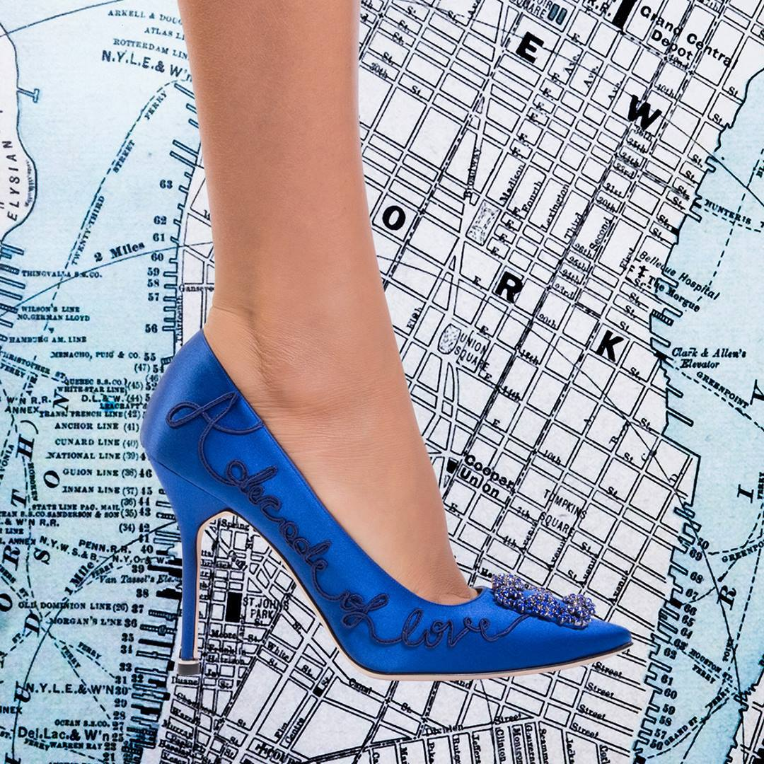 Shoes featured on sex and the city