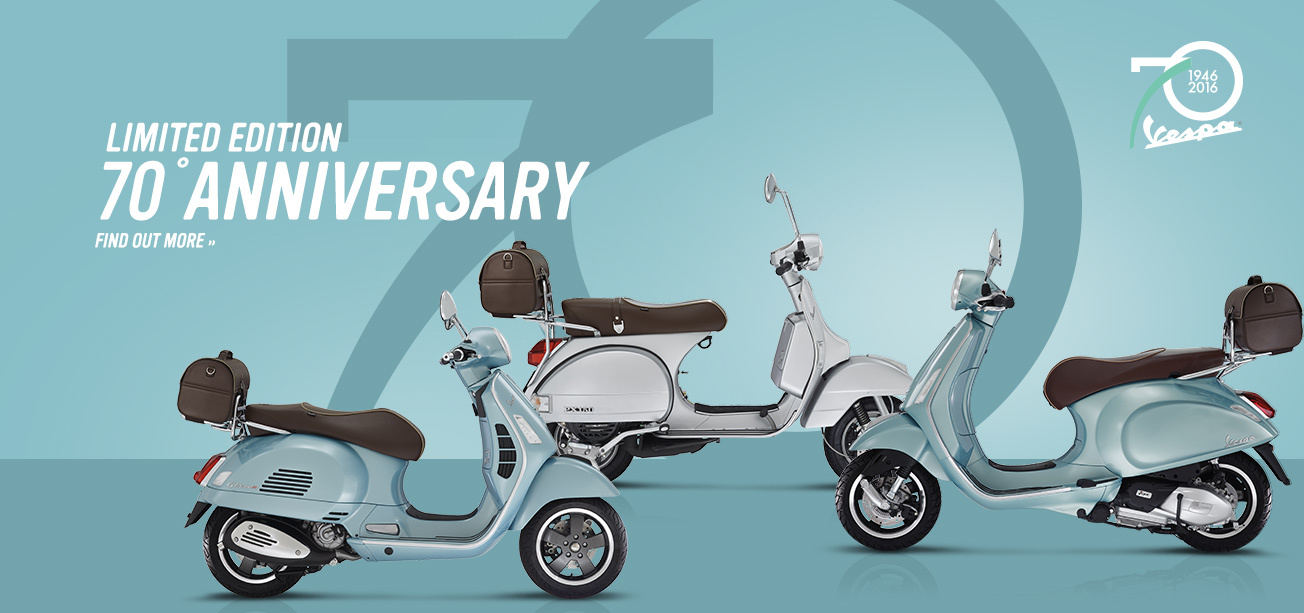 The Best of the Legendary Vespa Scooters | Luxury Prague Life