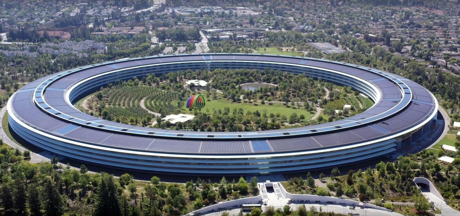 Sídlo společnosti Apple