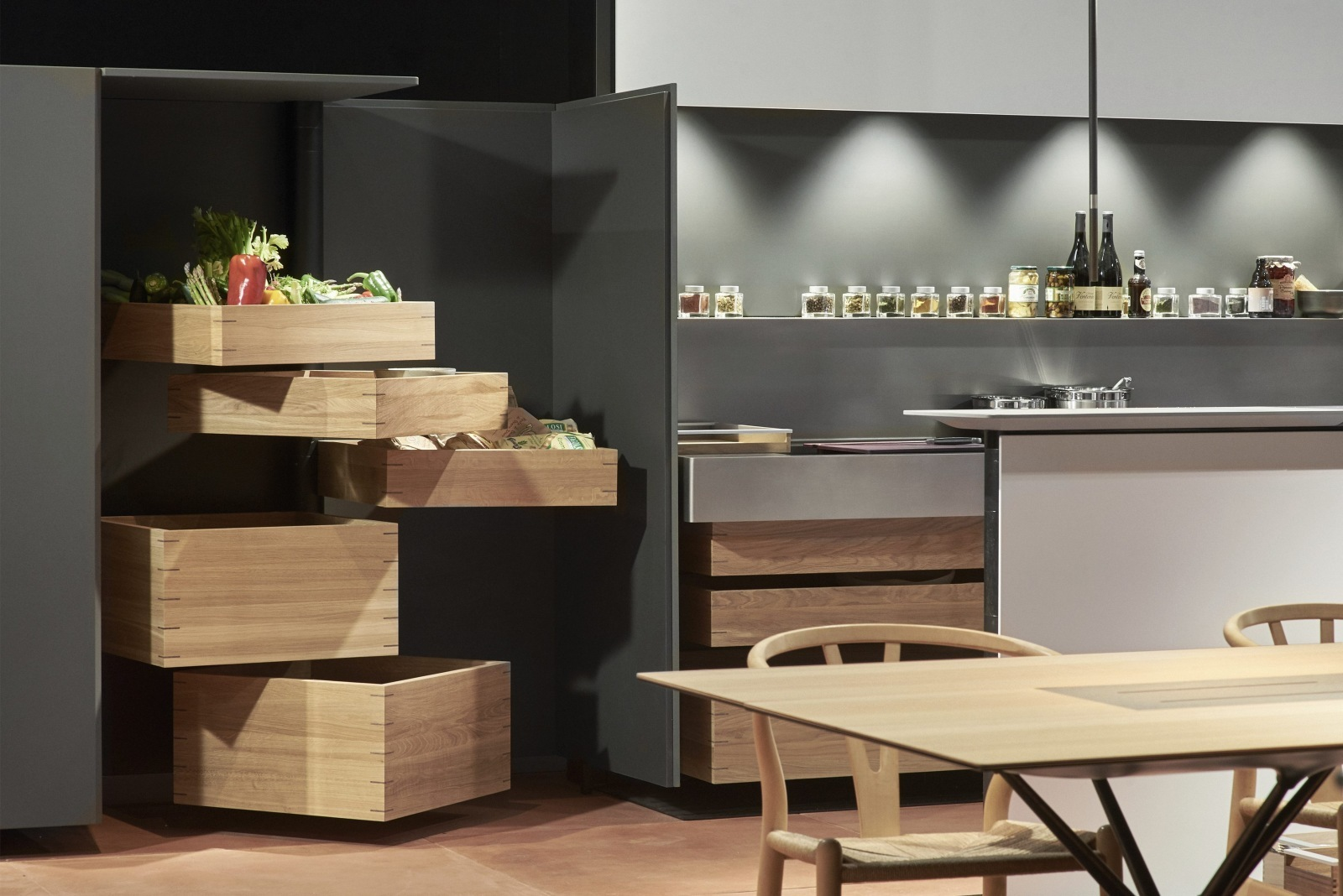 Bulthaup Frankfurt the bulthaup kitchen is for family get togethers