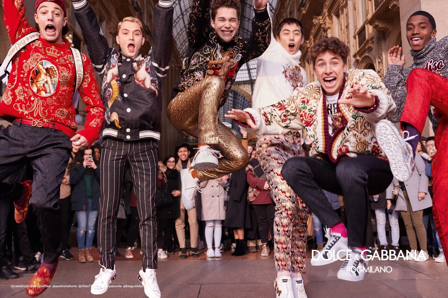 The Lively Campaign Of Men S Fashion Of Dolce & Gabbana Is Sure To