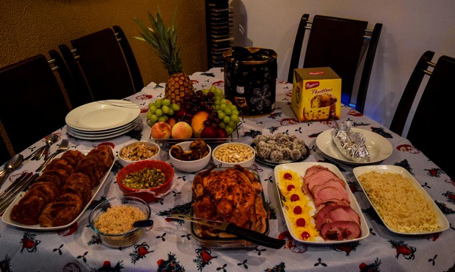 christmas dinner in brazil - Brazil Christmas Traditions