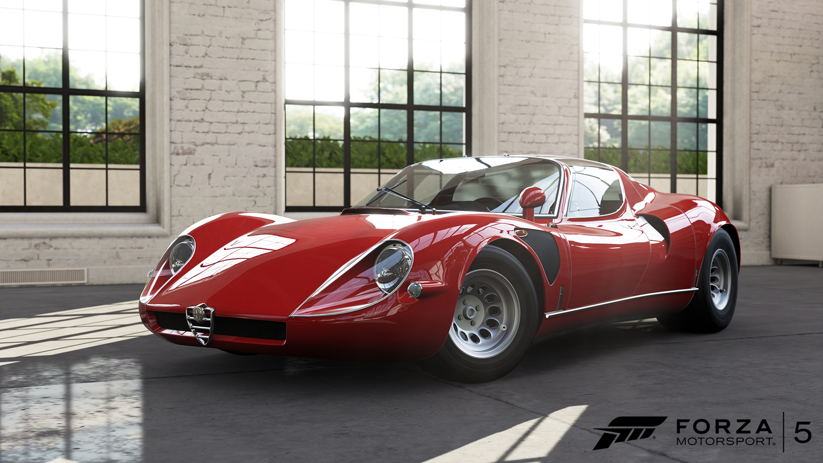 Alfa Romeo 33 Stradale as one of the Winners of the Concorso d