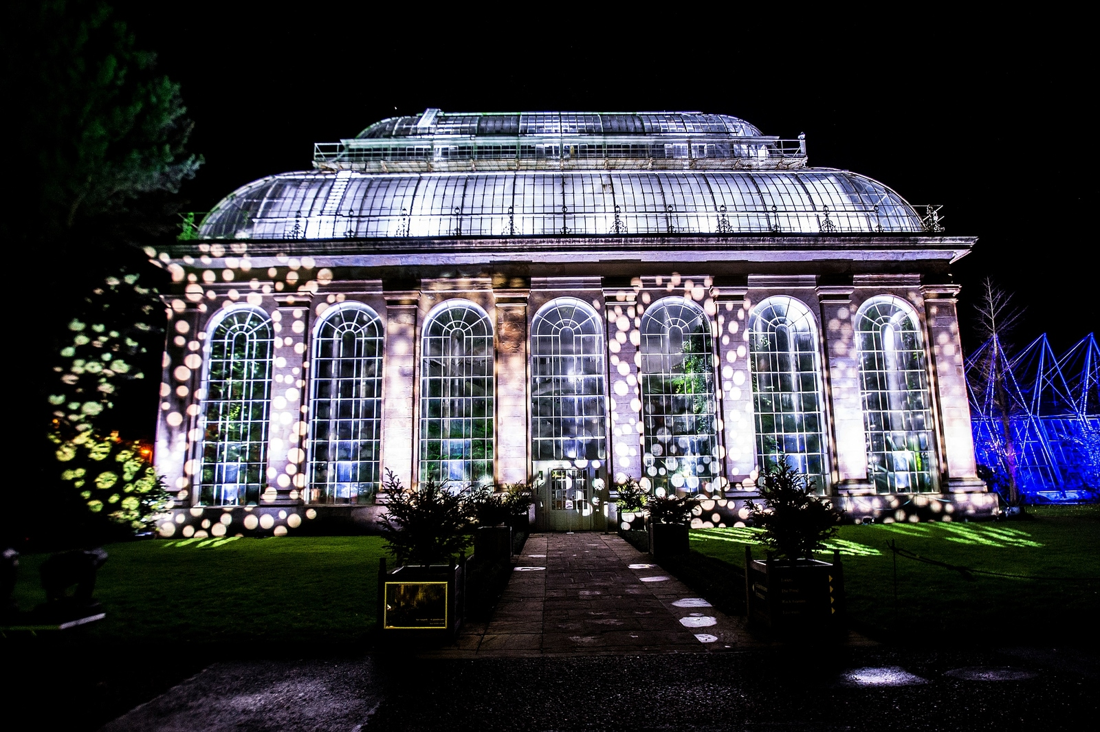 A winter wonderland The Royal Botanic Garden in Edinburgh will