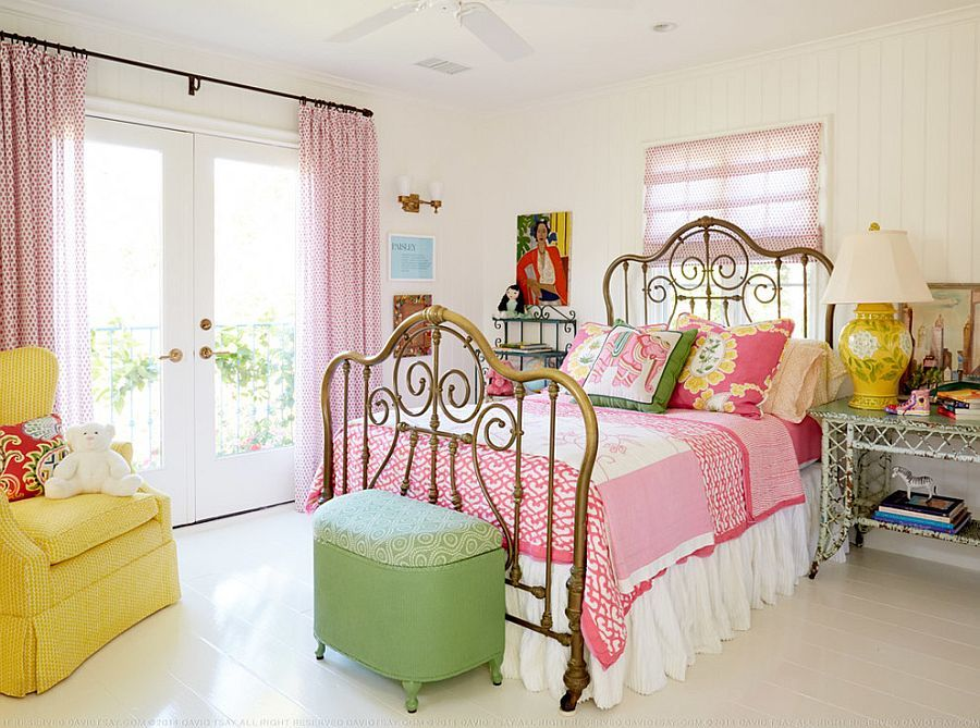 Bedroom In Shabby Chic Style