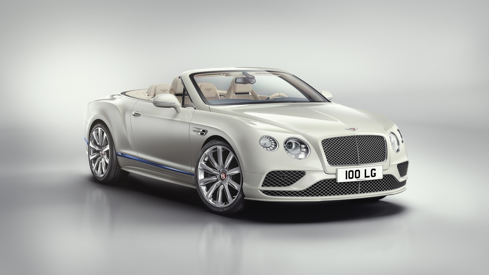 Limited edition The Bentley Continental GT Convertible Galene by