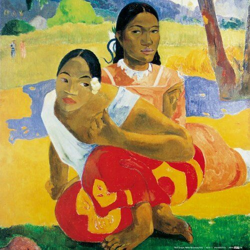 Nafea Faa Ipoipo od Paula Gauguina