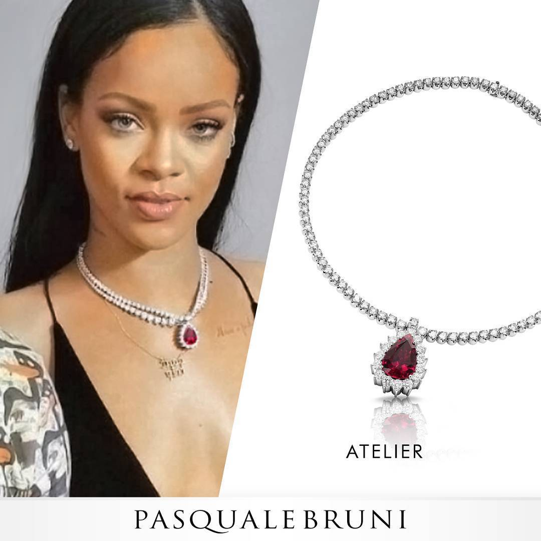 Alena Šeredová as the ambassador of luxury Pasquale Bruni jewelry ... 0a4dbaf1e59