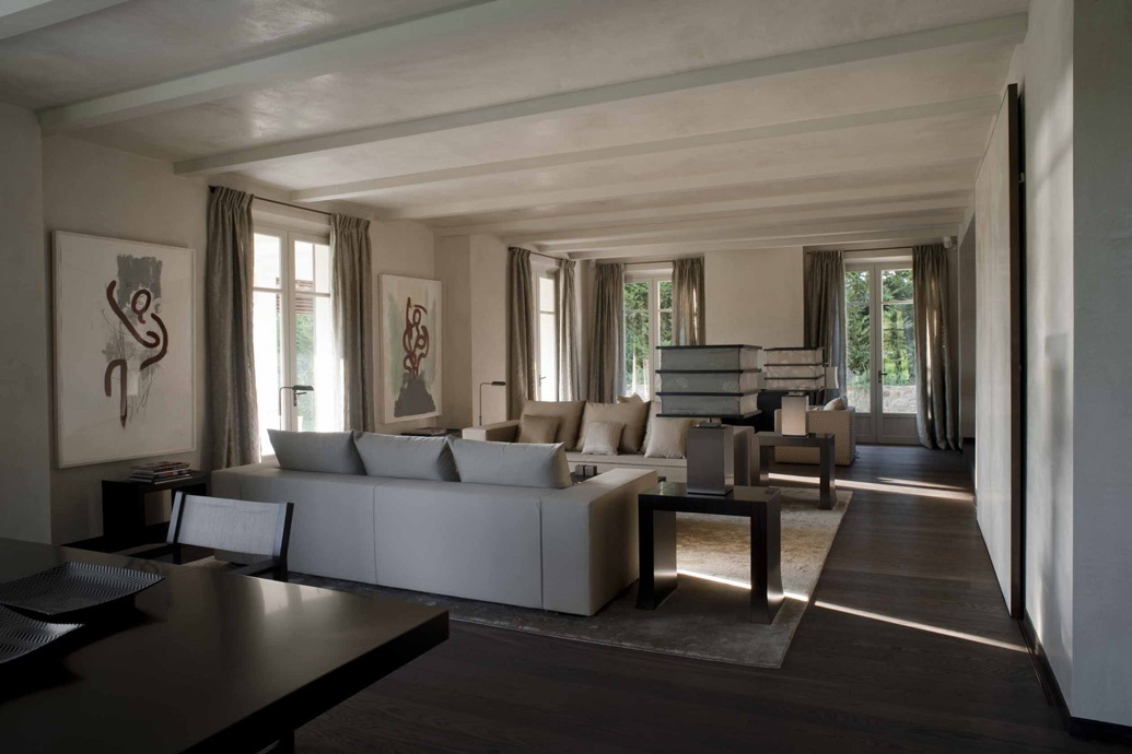 Armani interior private house in st tropez
