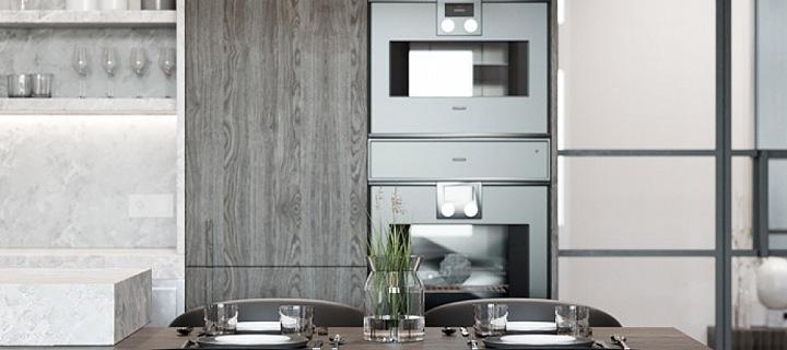 Luxusní a prostorná kuchyň