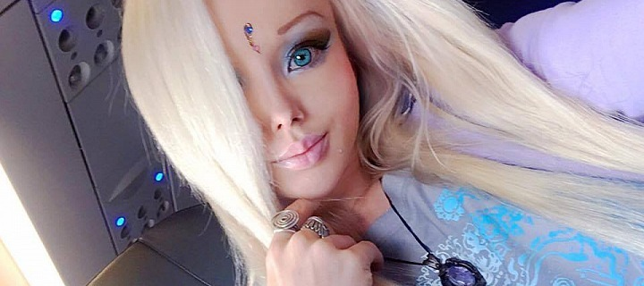 Valeria Lukyanova - live Barbie