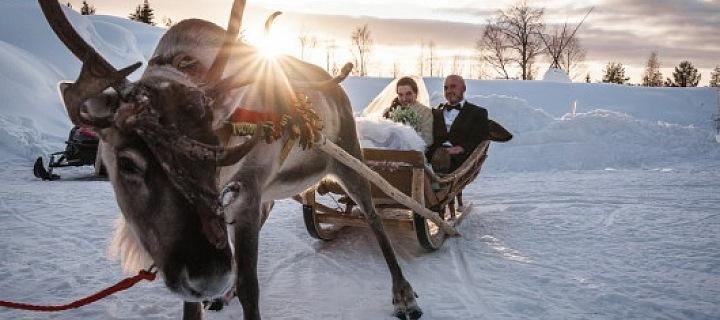 Luxurious wedding in Lappland!