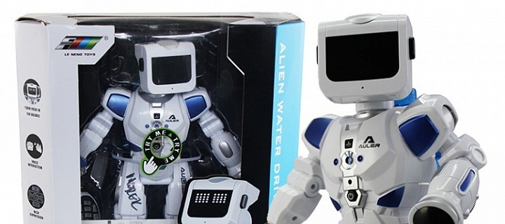 Robots are back! ROB B2 R/C is the Christmas hit for