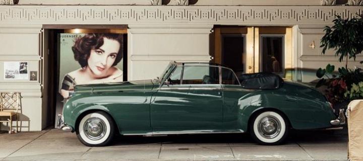 Zelená bohyně herečky Elizabeth Taylor