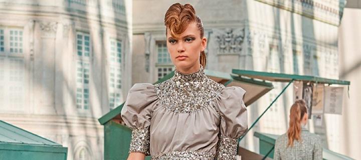 Luxusní šaty Haute Couture.