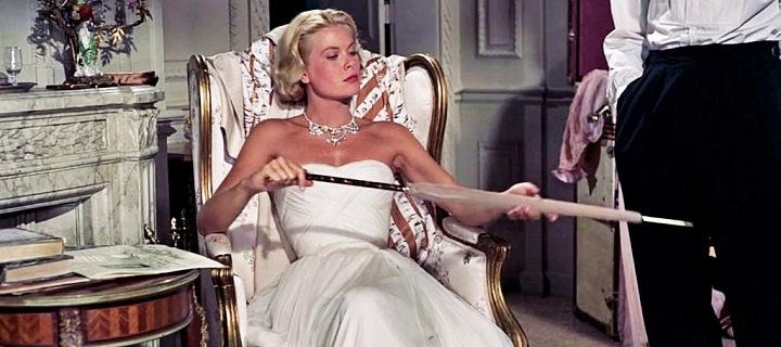 Grace Kelly, šaty Edith Head
