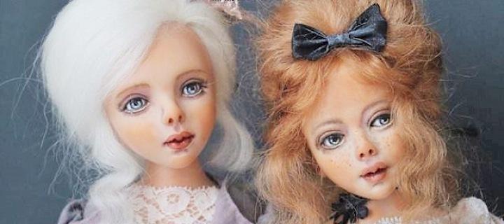 Luxusní umělecké panenky