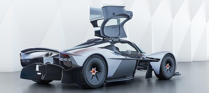 Aston Martin Valkyrie v celé své kráse