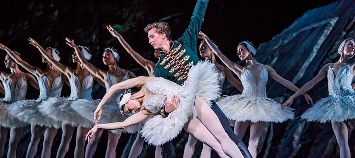 Royal Opera House, balet Labutí jezero