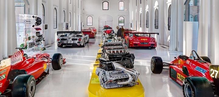 Muzeum Ferrari v Modeně
