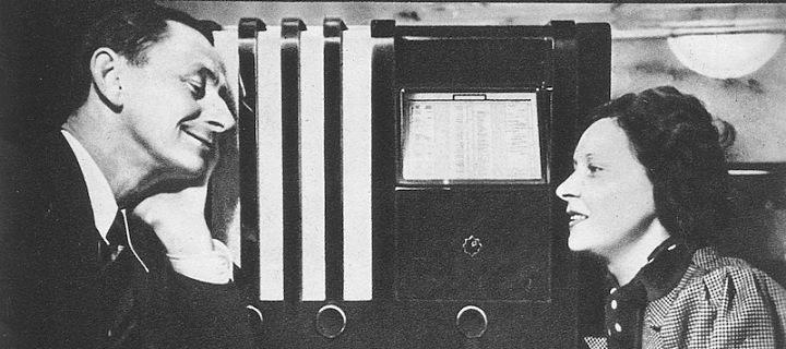 Vlasta Burian a reklama na rádio