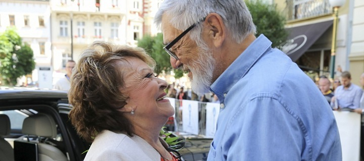 Jiřina Bohdalová a Jiří Bartoška