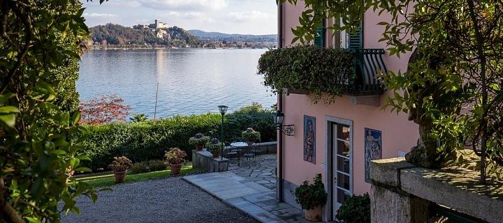Vila Mondadori teď patří nové majitelce Donatelle Versace