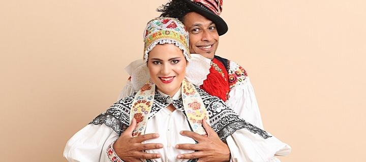 Ornella Koktová a Alex Damazio