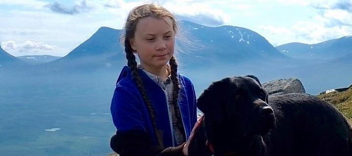 Greta je dívka ze Švédska, co bojuje za naši planetu.