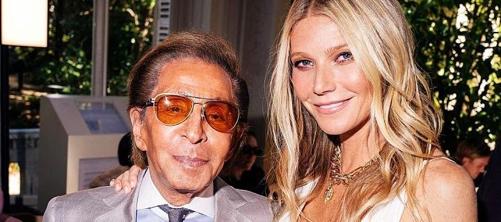 Valentino Garavani a Gwyneth Paltrow
