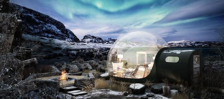Bublinkový příbytek
