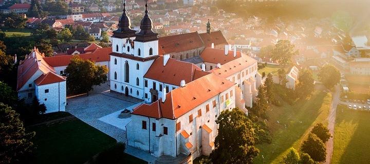 Pohled na Třebíč, Bazilika sv. Prokopa