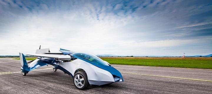 Luxusní létající vůz