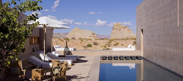 Luxusní resort v poušti