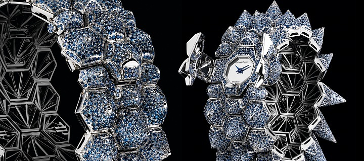 Haute Joaillerie Diamond Outrage, hodinky i náramek