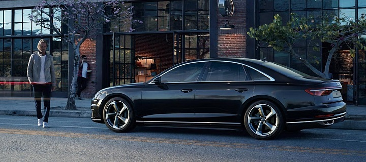 Audi A8 won't get tired