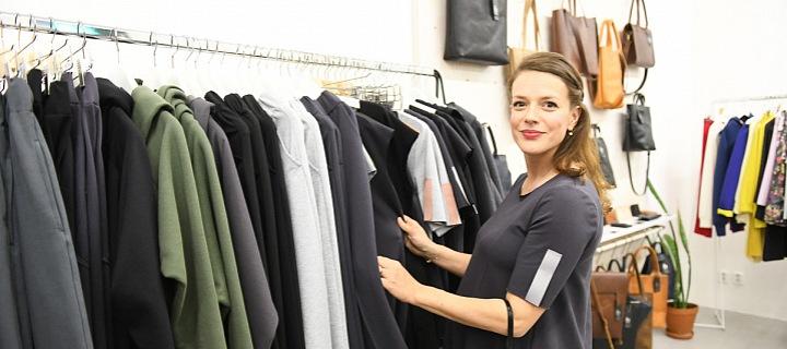 Těhotná Andrea vybírá hlavně pohodlnou módu.