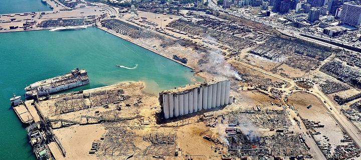 Bejrút po katastrofě
