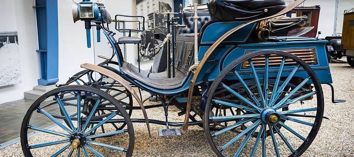 Benz Victoria je ve sbírce Národního technického muzea