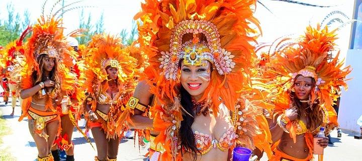 Junkanoo festival na Bahamách
