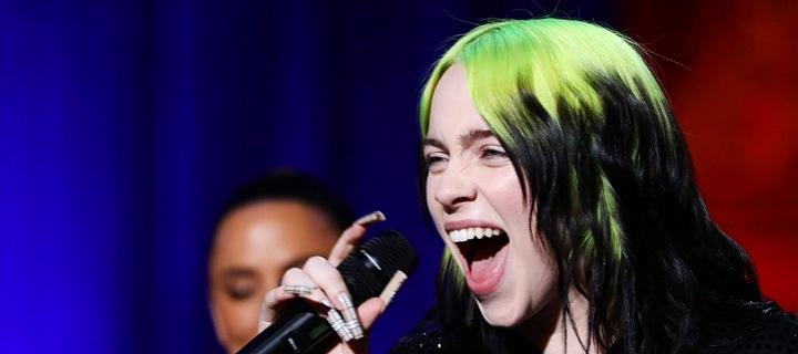 Americká zpěvačka Billie Eilish