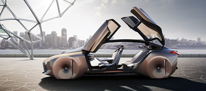 BMW VIsion next 100, koncept