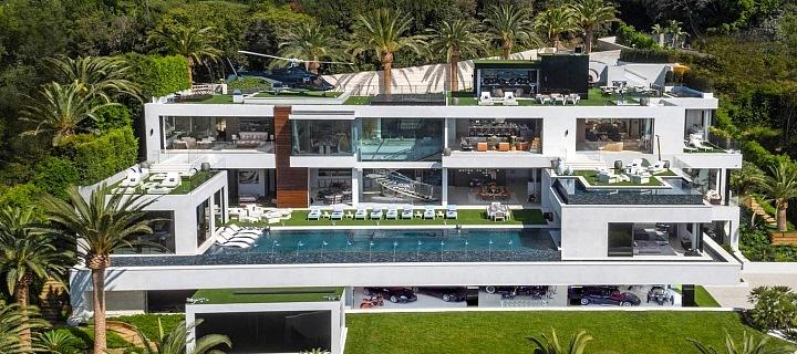 Nejdražší dům v historii realitního trhu v USA.