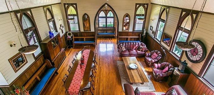 Bydlení v kostele