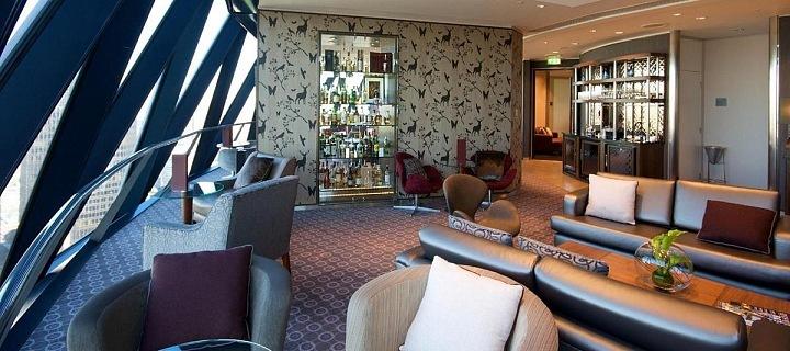 Luxusní lounge pro členy