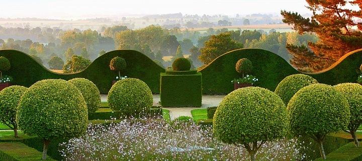 Zahrada de la Ballue ve Francii